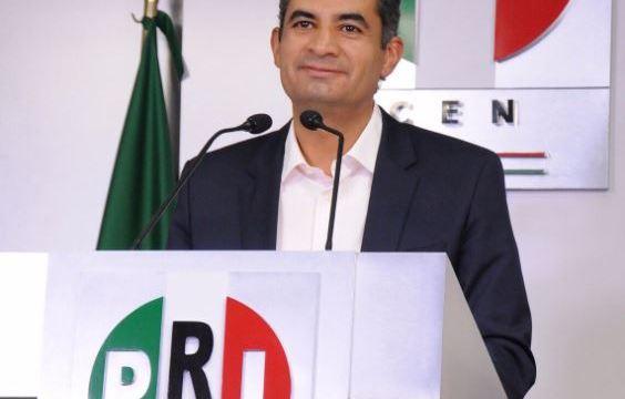 Enrique Ochoa Reza, presidente, PRI