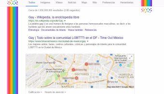 buscador, Google, colores, arcoíris