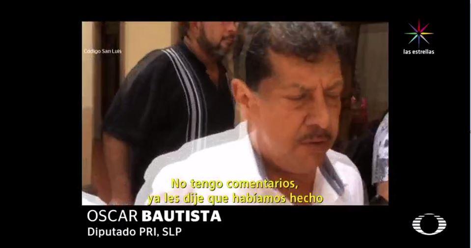 Óscar Bautista, San Luis Potosí, PRI, PAN, corrupción, política
