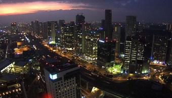 panoramica de la ciudad de mexico, preven lluvias