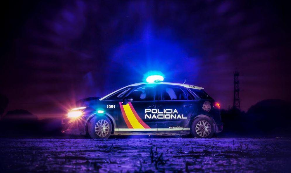 Patrulla de la Policía Nacional de España (Twitter)