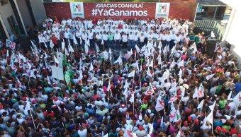 Coahuila, Riquelme, Ochoa Reza, elección, voto, política, PRI