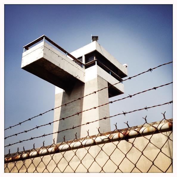 Torre de una prision en la cdmx