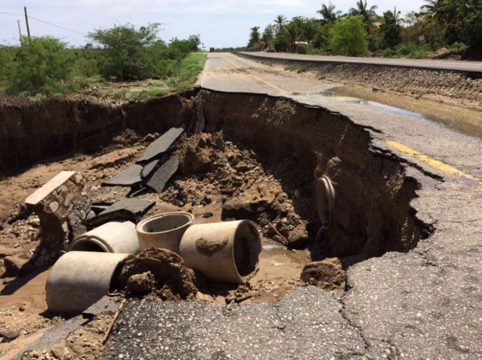 Desciende nivel de ríos tras paso de la tormenta tropical Beatriz en Oaxaca