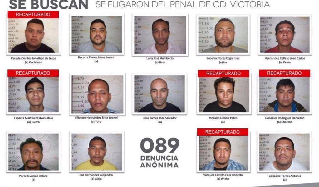 Detienen en Nuevo León a reo fugado del penal de Ciudad Victoria