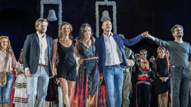 Representación de la ópera Carmen en Roma