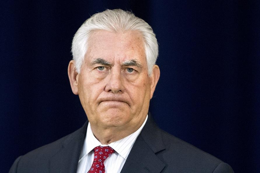Rex Tillerson, secretario de Estado de Estados Unidos