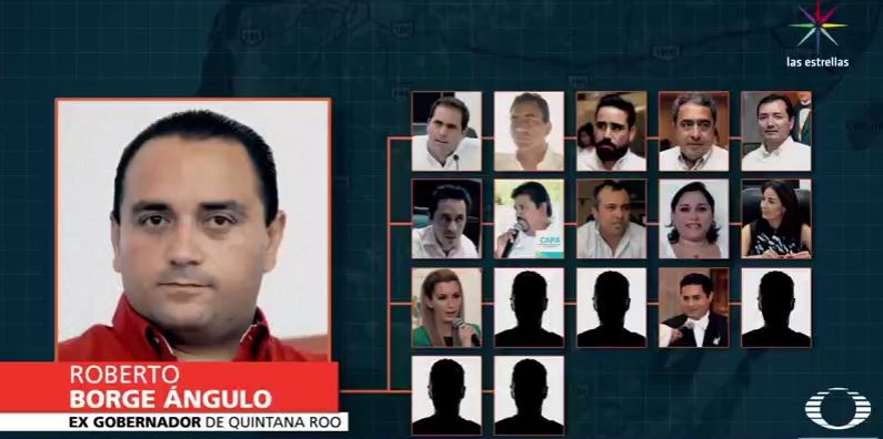 Roberto Borge y las personas de su círculo cercano bajo investigación