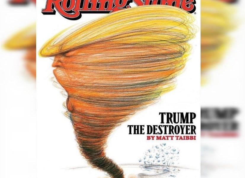 revista Rolling Stone, Estados Unidos, Donald Trump, acuerdo de parís