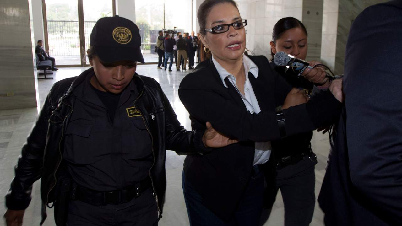 Guatemala, extradición, Estados Unidos, justicia, narcotráfico, exvicepresidenta,