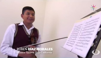 Rubén Díaz, música, orquesta, Tijuana, director, maestro