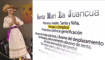 Santa Mari, La Juaricua, María la Ribera, colonia, Juárez, gentrificación, religión, urbanismo