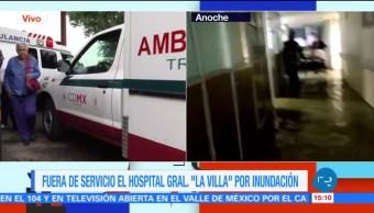 noticias, forotv, prevén, tres días de limpieza, Hospital de La Villa, inundación