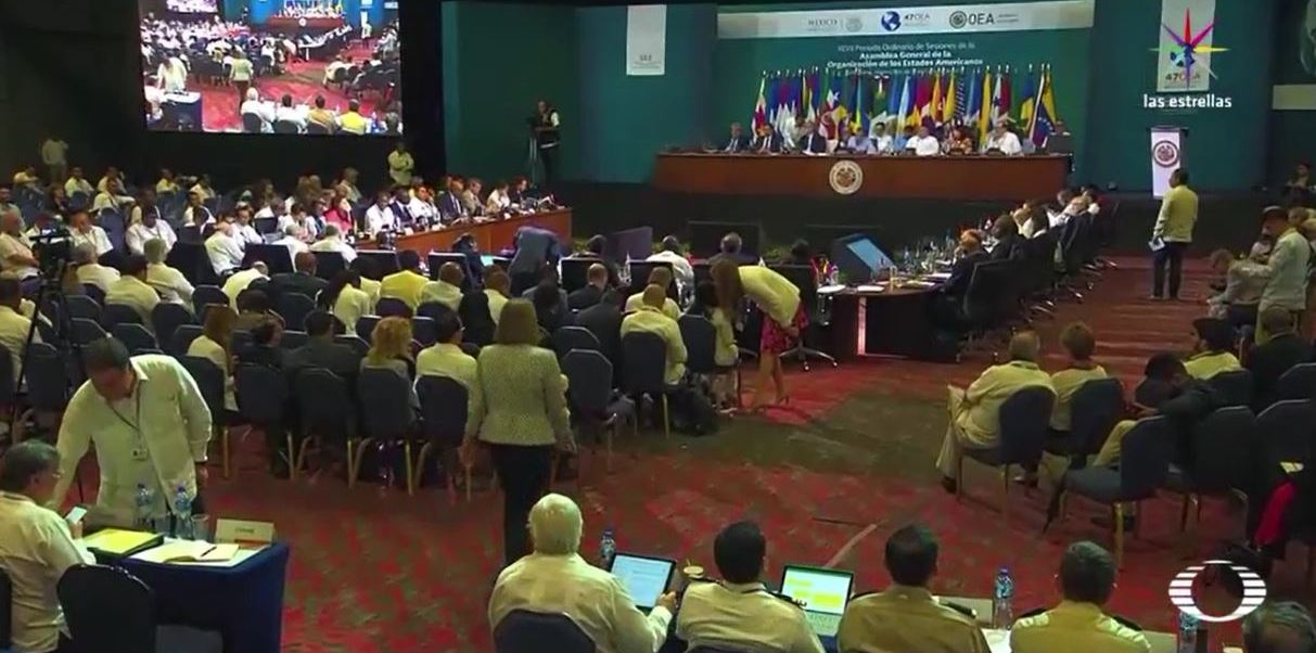 noticias, televisa, Segundo día, OEA, crisis, Venezuela