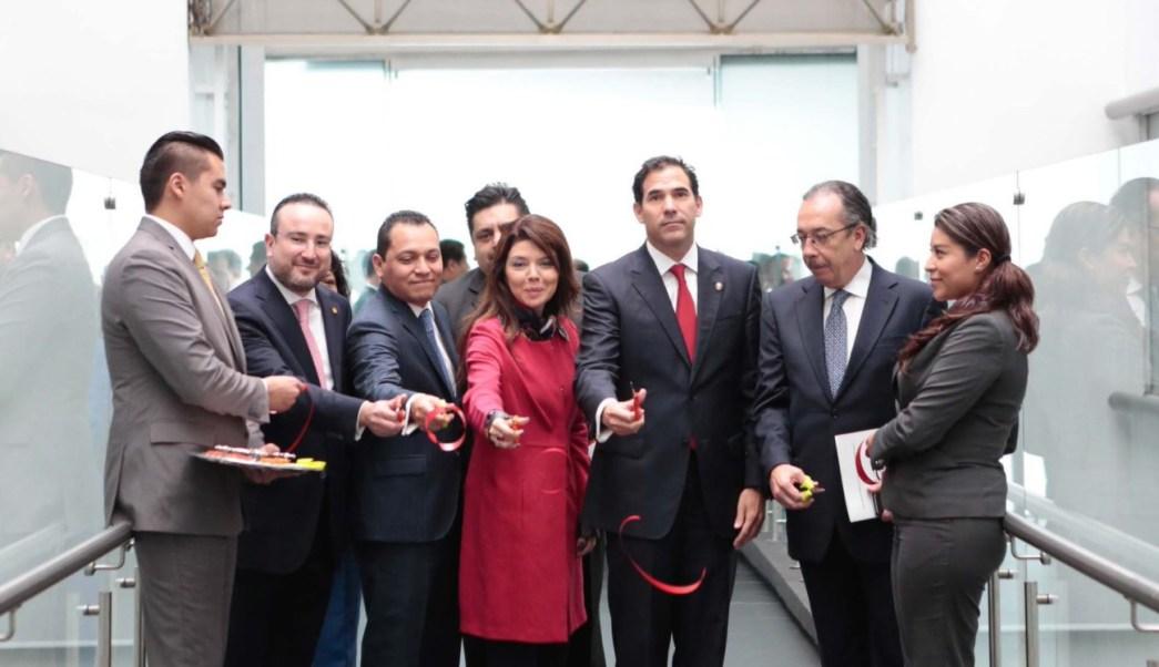 El presidente del Senado, Pablo Escudero, inauguró las nuevas obras. (Twitter: @senadomexicano)