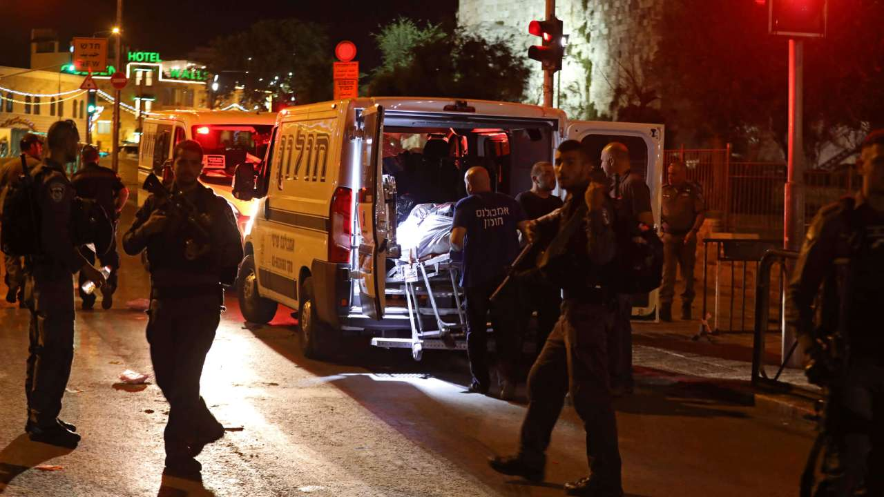 Ataque, policía, muerto, Jerusalén, terrorismo, Estado Islámico,