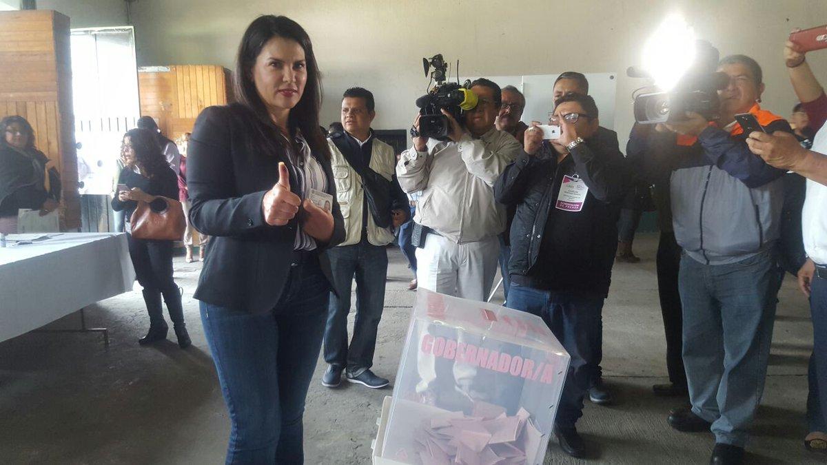 Castell va a primaria para votar en elección del Edomex