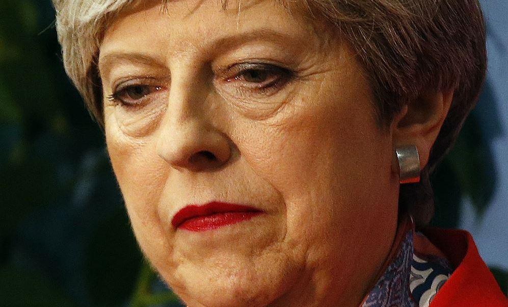 Theresa May,primera ministra del Reino Unido