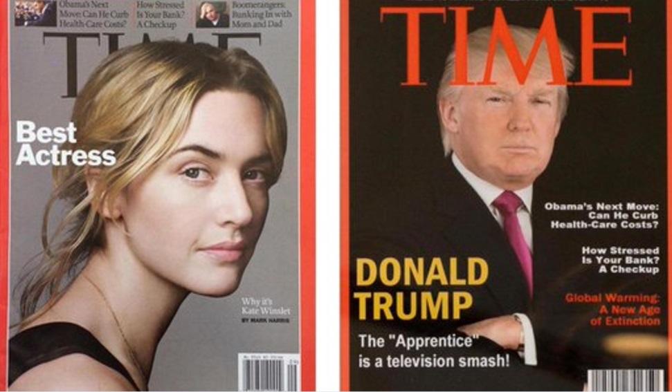 Trump presume su portada de Time… pero es falsa