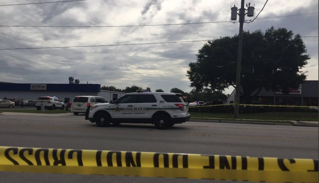 patrullas vigilan zona de tiroteo en Orange