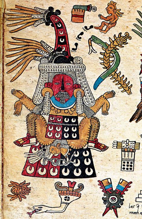 Tlazolteotl diosa azteca mexica del amor licencioso