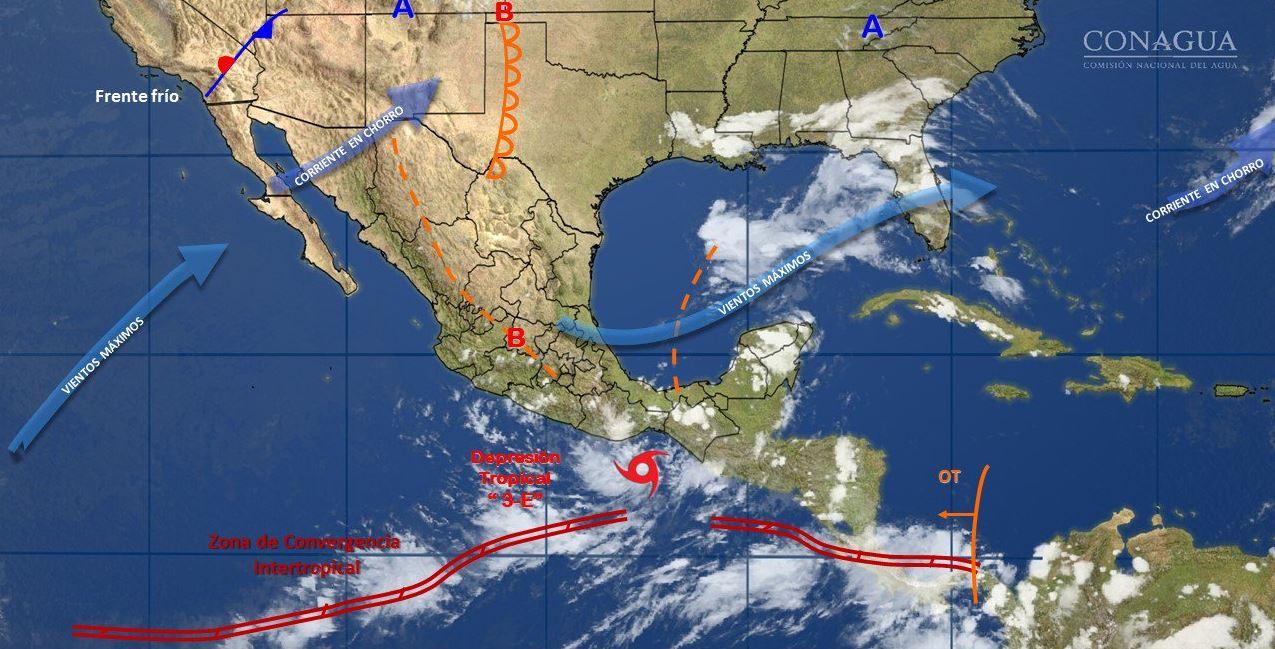 Toca tierra tormenta tropical Calvin en Oaxaca