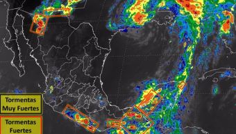 Servicio meteorológico nacional, Tormenta tropical cindy, Clima, Conagua, Noticieros televisa, Forotv