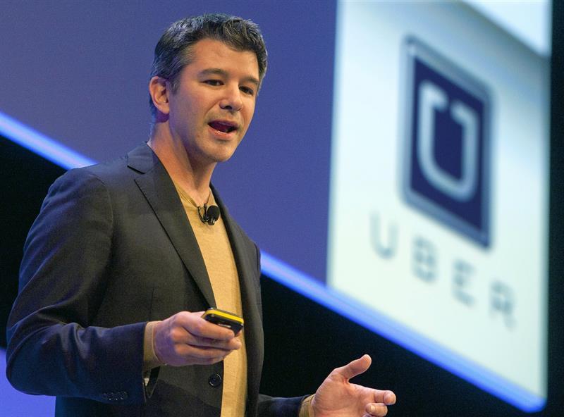Travis Kalanick, Uber, CEO, cofundador, EU, inversionistas