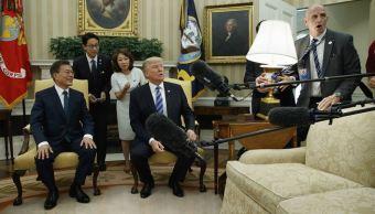 Presidente, Estados Unidos, Donald Trump, Corea del Sur, Moon Jae