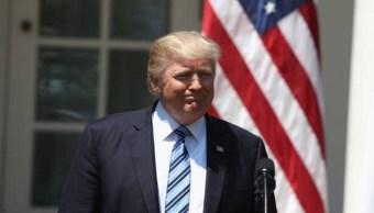 Trump es acusado de usar a menores de carnada. (Getty Images)