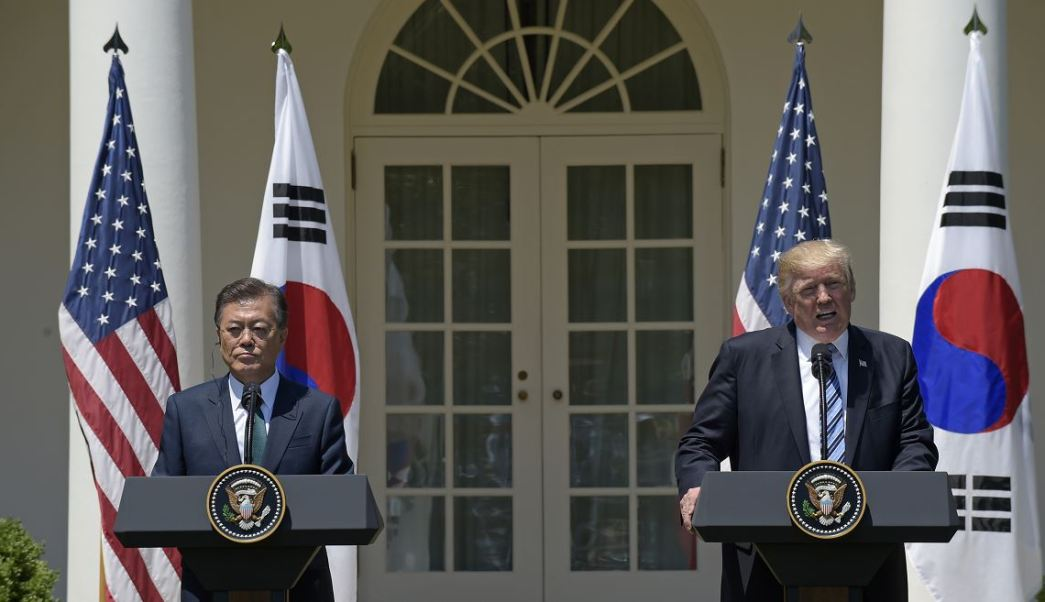 presidente, Corea del Sur, Moon Jae-in, Casa Blanca, Washington