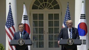 presidente, Corea del Sur, Moon Jae-in, Casa Blanca, Washington