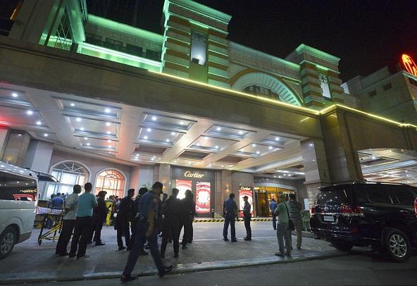 Filipinas, casino, muertos, seguridad, Policía, robo,