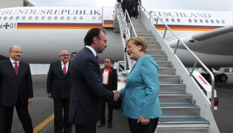 Angela Merkel y Luis Videgaray