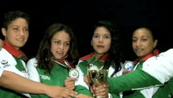 veracruzanas ganan segundo lugar en torneo de futbol en bulgaria