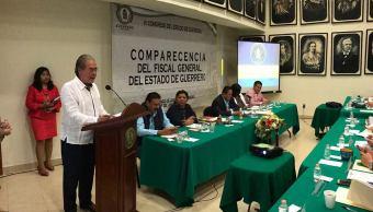 Xavier Olea, fiscal, Guerrero, El Tequilero, Saúl Beltrán, diputado, PRI
