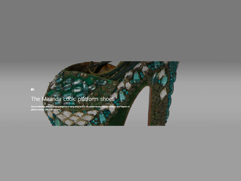 Una de las piezas que se exponen en 'We wear culture'