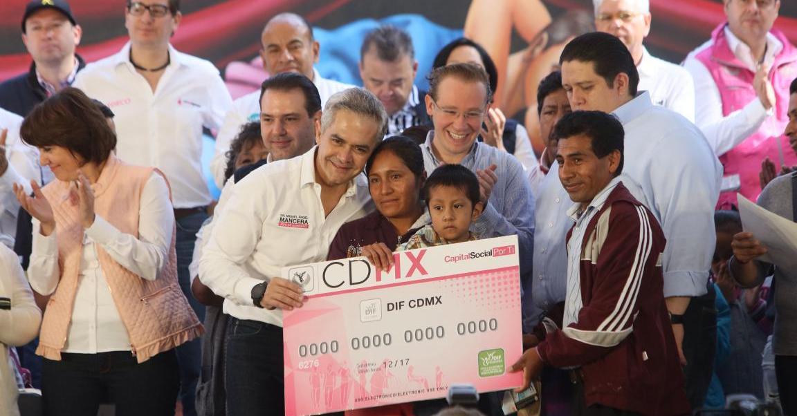 Cdmx Miguel angel mancera fugas de agua Programa de reparacion Programas sociales Tu ciudad te requiere