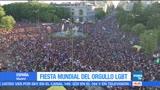 Realizan, marcha, orgullo gay, España, comunidad, LGBTIII