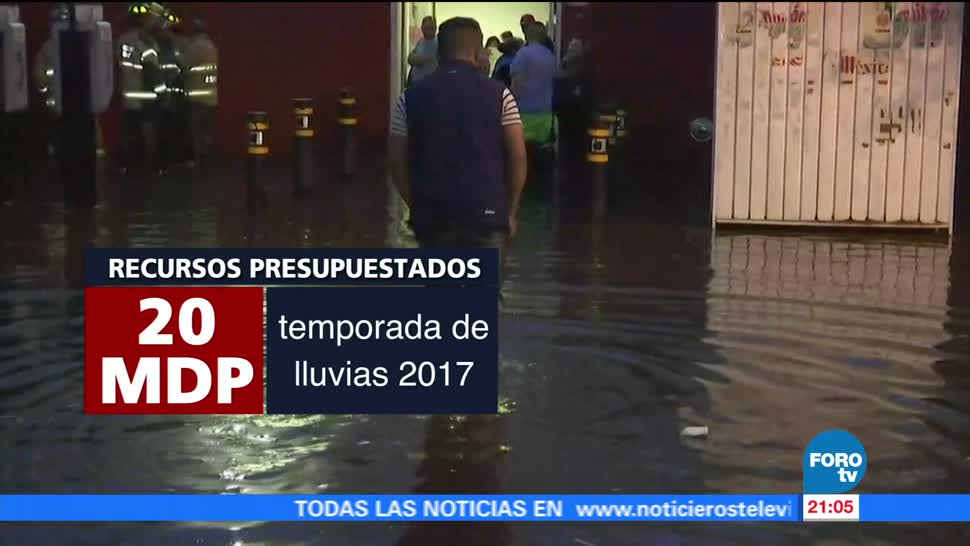 Apoyo, 3 mil personas, lluvias, Ciudad de México, inundaciones, cdmx