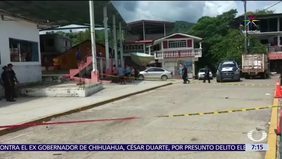 explosión, bar de Chilapa, Guerrero, granada