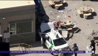 taxi atropella, peatones, Aeropuerto de Boston, personas heridas