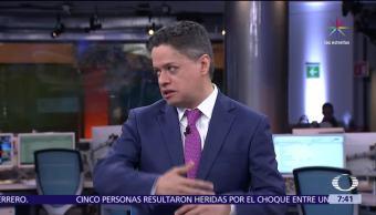 Ariel Moutsatsos, corresponsal de Noticieros Televisa, imagen de México, Estados Unidos