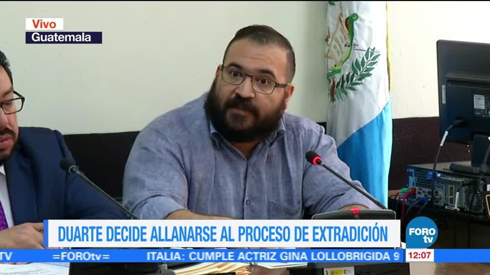 exgobernador de Veracruz, Javier Duarte, proceso de extradición, delitos
