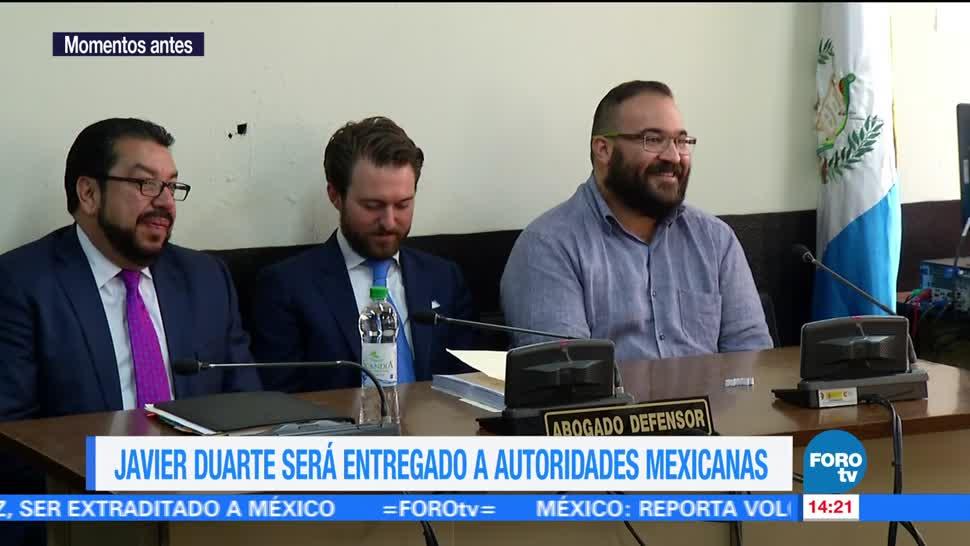 Juez, concede, extradición, Javier Duarte