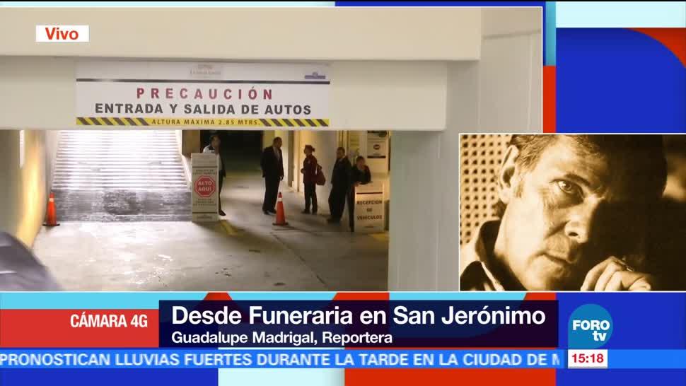 Hijas, José Luis Cuevas, no asistieron, funeraria en San Jerónimo