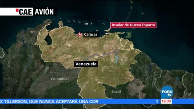 Aeronave, venezolana, ameriza, emergencia en el Mar Caribe