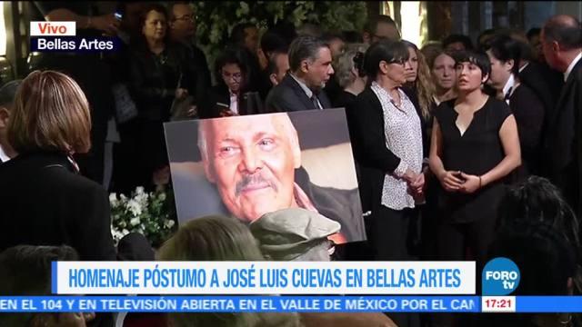 noticias, forotv, Inicia, homenaje, José Luis Cuevas, Bellas Artes
