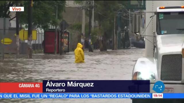 noticias, forotv, inunda, Avenida, López Portillo, Tultitlán