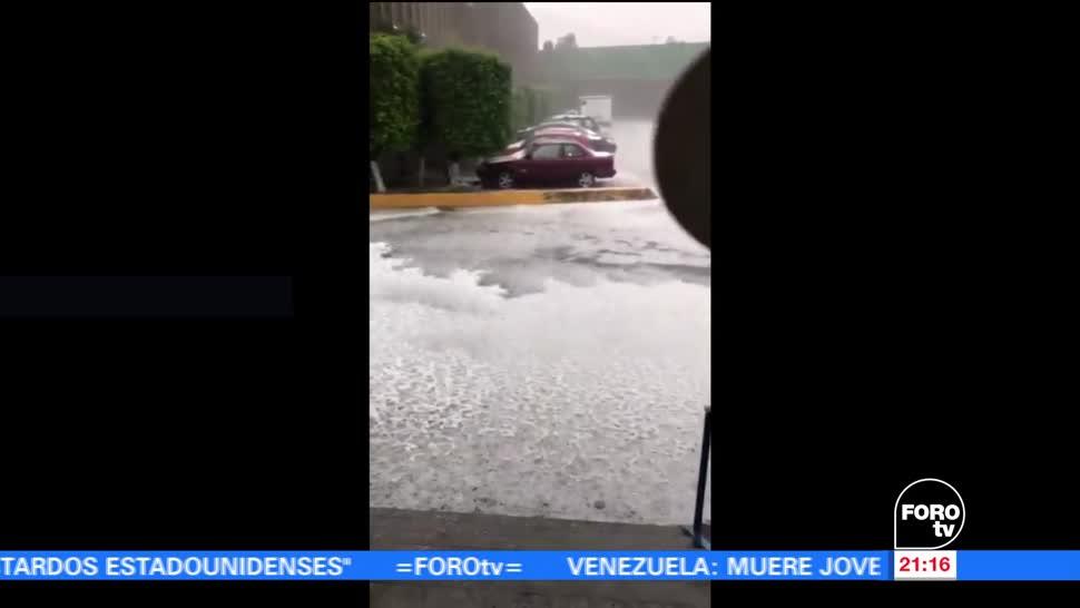 noticias, forotv, Fuerte lluvia, Valle de México, inundaciones, lluvias